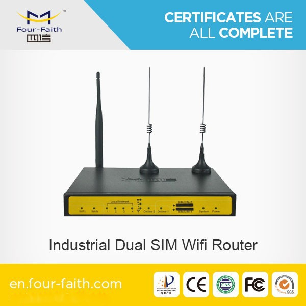 F7B32 gsm dual bus router 3G dual sim Router fail over Support VPN failover dual sim 3g backup router