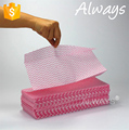 30*43cm spunlace nonwoven multipurpose wiping cloths for household cleaning