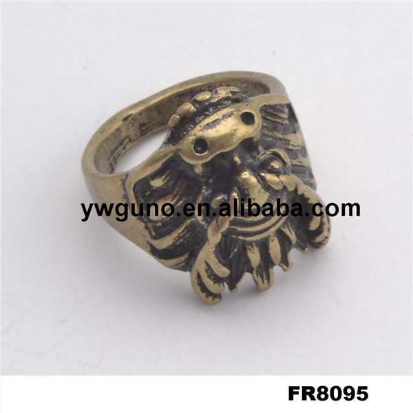 Chinese Gold Dragion Ring, Dragon Ring Jewelry