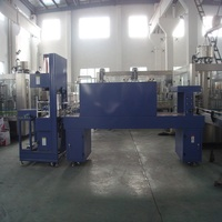 high efficient automatic shrink wrapping machine / pe film packing machine