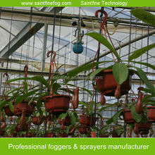 Greenhouse cooling fog system
