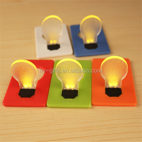 new design custom print festival led card lamp folding led lighting card