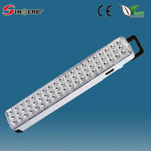 new rechargeable SMD3528 long lasting time emergency led lamp