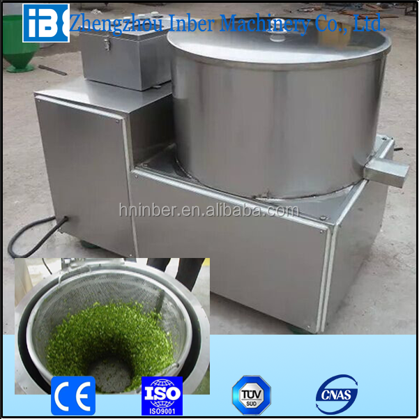 Top quality fruit and vegetable dewatering machine