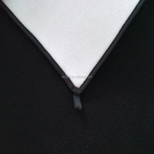 Good quality 5mm hook and loop soft neoprene fabric , neoprene laminated OK band fabric sheet one side coated nylon