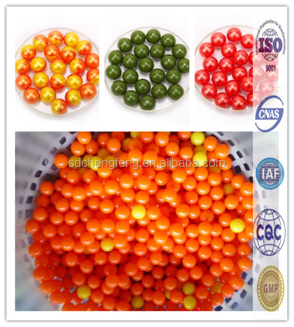 0.68 paintball competitive price /PEG&Oil paintball balls for paint ball guns,non-staining OEM