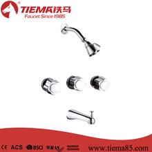 Full Turn Concealed Zinc Handle Brass Wall Shower Mixer(ZS2815)