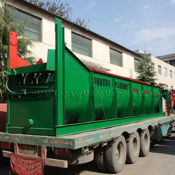 China made mineral processing spiral classifier equipment for iron ore