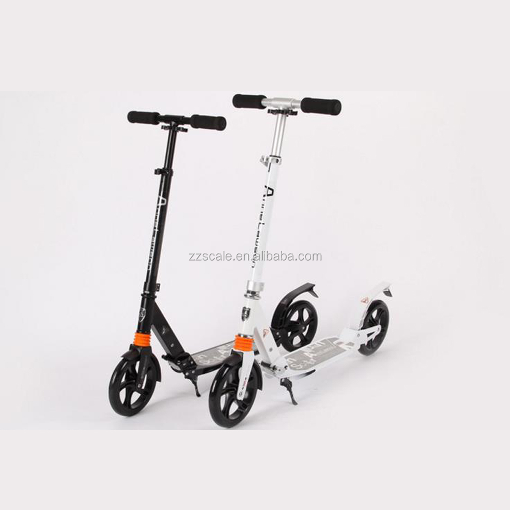 200mm Adult Kids Adjustable Folding 2 Wheels Aluminum Kick Scooter