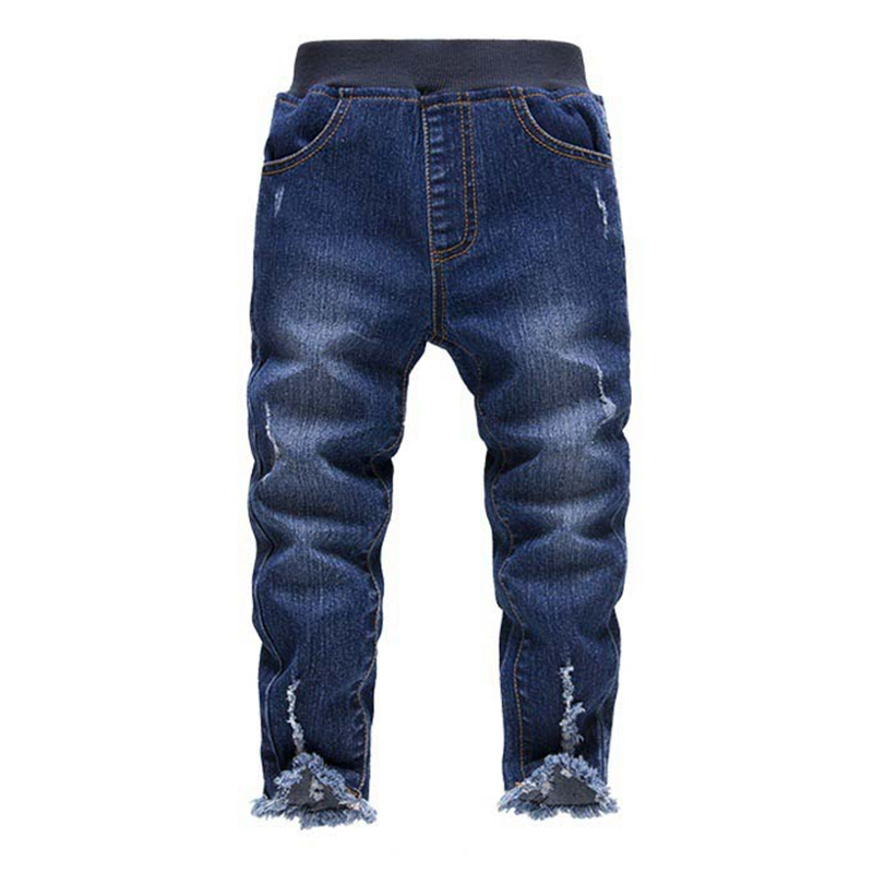 2015 new Brand Fashion Summer Style Fall and Winter Thick Kids Jeans Baby Boys Pants Children Jeans ki263