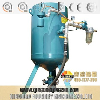 High Quality Manual Sandblasting Machine / Sand Blasting Room With Automatic Recovery System
