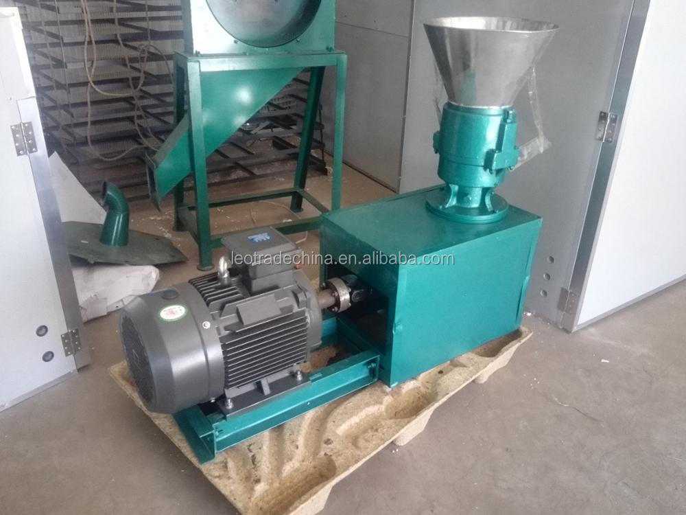 poultry animal feed pelletizer pellet making machine 300kg per h