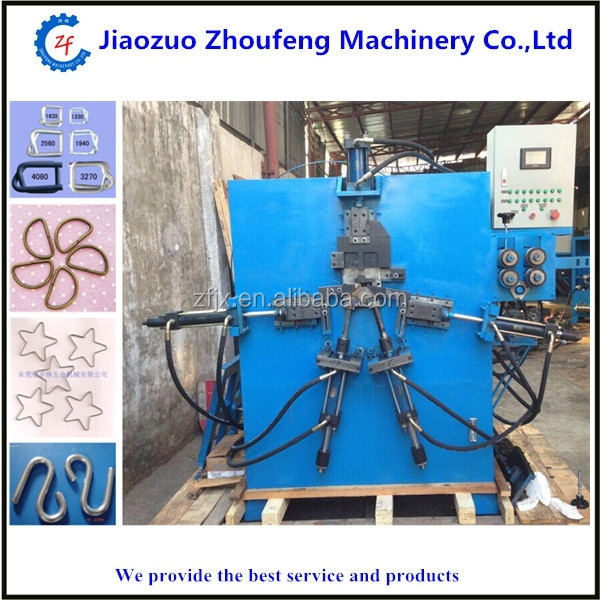 wire dotter, wire buckle hanger hook forming machine (Email:kelly@jzhoufeng.com)