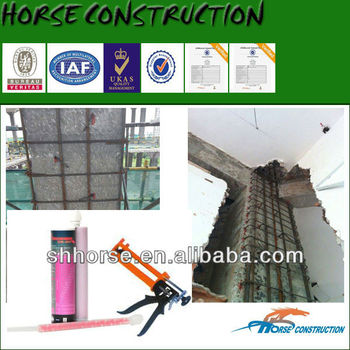 HM-500 Epoxy Resin Injection Adhesive for installation of Reinforcement Bar
