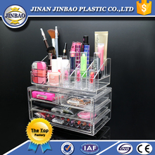 jinbao clear acrylic makeup organizer storage case drawers storage box