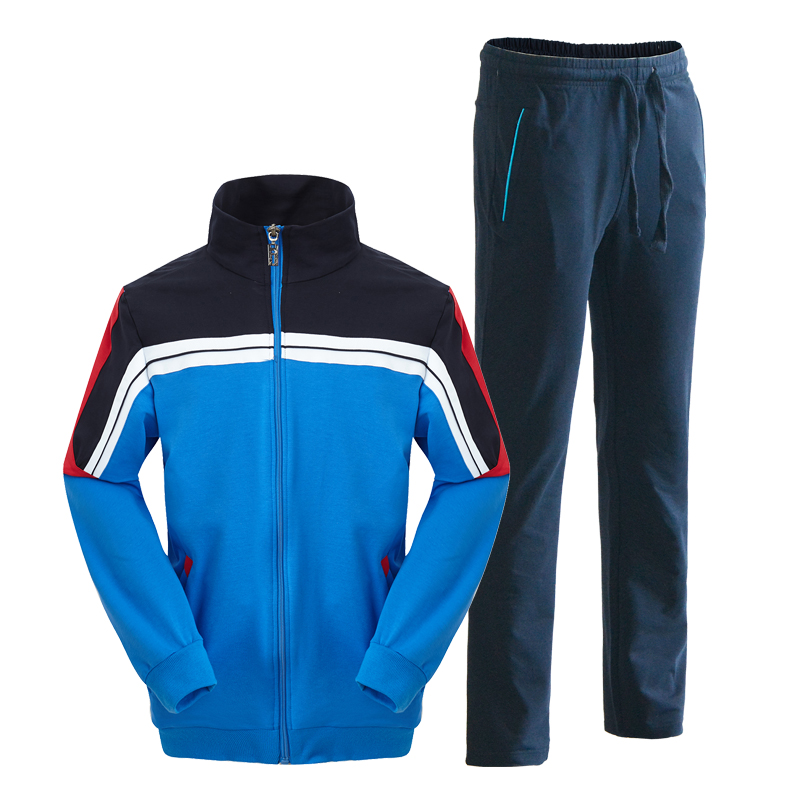 Custom design wholesale sportswear training track suits