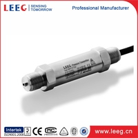 piezoelectric pressure transducer for hydraulic lubrication