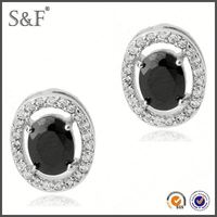 Latest Design Popular Zircon led light earrings