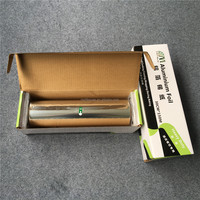 150m length 30cm width top food grade heavy duty catering use food aluminium paper foil roll type food wrapping paper