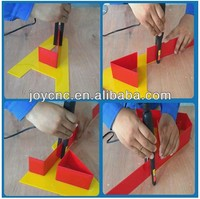Mini tools manual acrylic letter bending machine