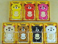 3D Animal Rilakkuma Bear Silicone Mobile Phone Case For Samsung Galaxy S Plus i9001