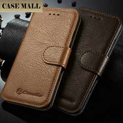 For iPhone 6 Cover, Wholesale Genuine Leather Case for IPhone 6s, for iPhone 6 Smart Phone Case