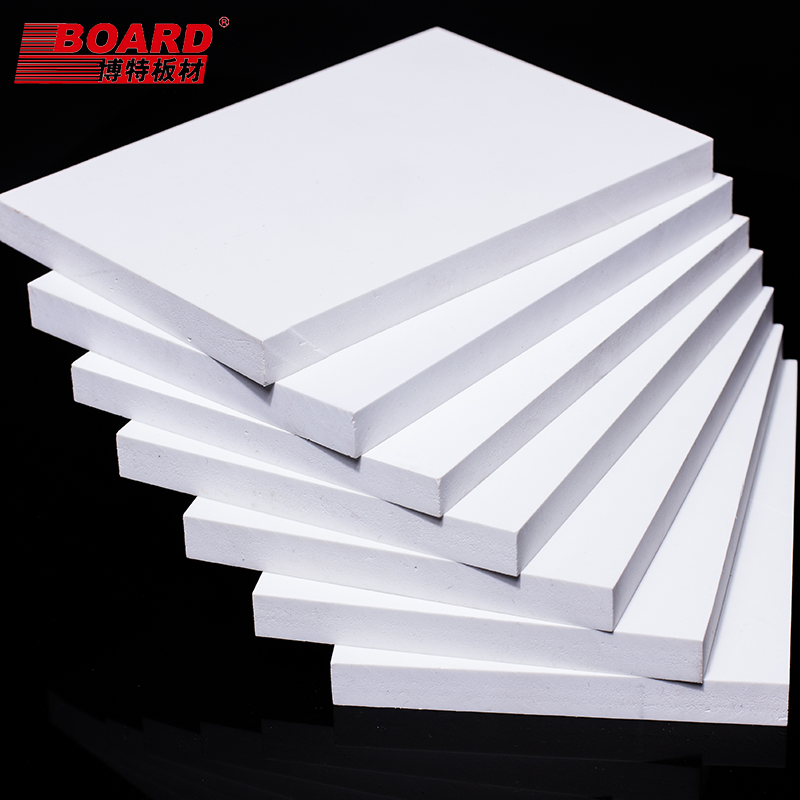 Excellent quality laminated pvc plastic foam 3d print board