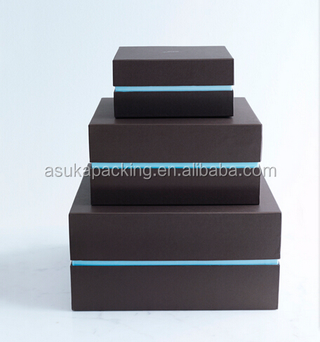 Shenzhen Packing factory Stylish cardboard gift box supplier