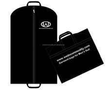 foldable garment bag for mens suit non woven suit cover travel bag