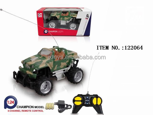 2016 Hot New Products Kids RC Cross Country Plastic car
