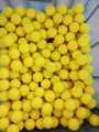 Blank color yellow new wholesale Shenzhen manufacturer golf ball
