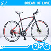 700C Wheels Chinese Road Bike in 21 speed/Cheap Carbon Steel Road Bicycles 21 speed