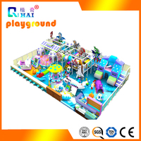 Commercial kids play land used indoor playground equipment sale for children