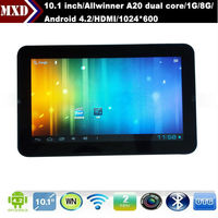 10.1 inch android 4.2.2 allwinner a20 tablet pc