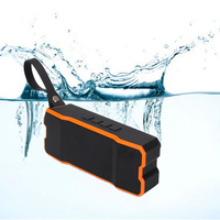 Portable Wireless Stereo wifi Speaker, Waterproof, Shockproof and Dustproof for Outdoor/ Shower