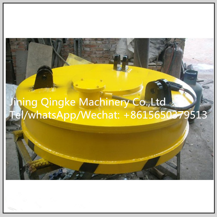 Excavator powerful lift electromagnetic device with fully enclosed structure