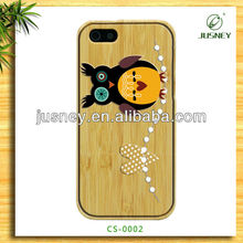 Carton Printed Animal Phone Case For Iphone4/5