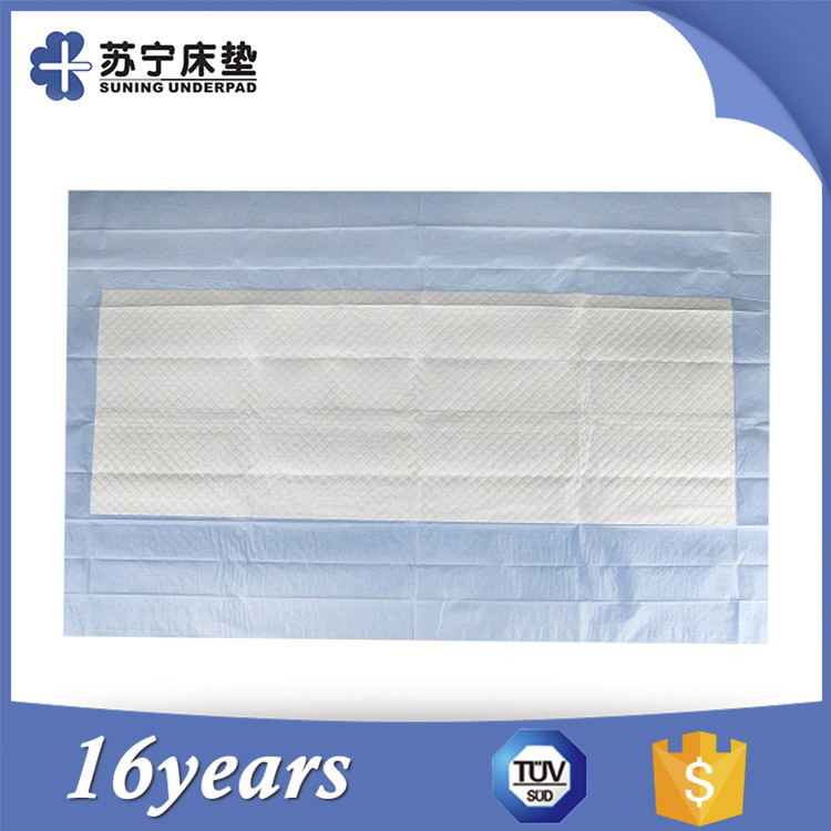 Alibaba Supplier ISO Certified Incontinence Disposable Bed Pads