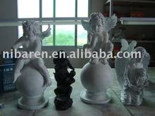 any material angel sculpture for handicraft works