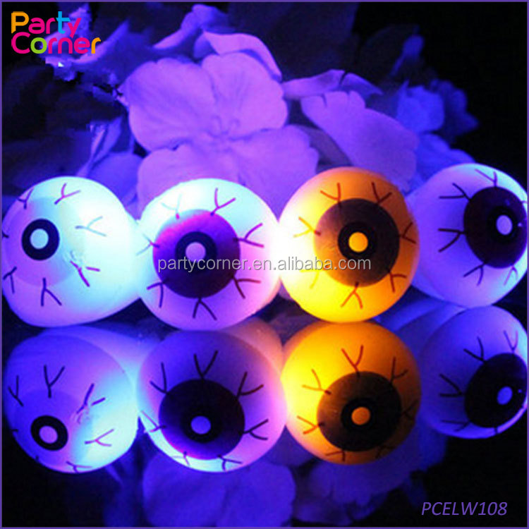Glow In The Dark Sticky Eyes Halloween Haunted House <strong>Decor</strong> - SPOOKY SCARY