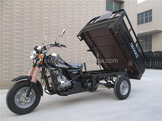 EEC 150cc 250cc Cargo Moped Tricycle Gasoline Three Wheel Motor Tricycle