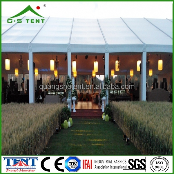 semi permanent outdoor structure pavilion party tents for sale white