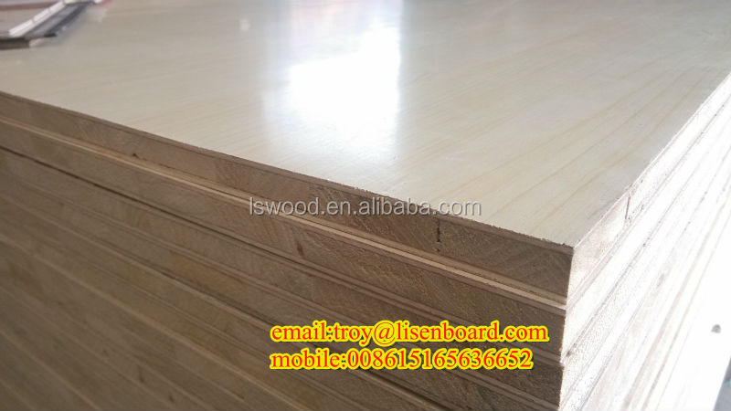 Melamine Block Board / E1 glue furniture core-board