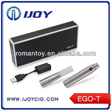 ijoy original design ego-t with lcd e cigarette huge vapor throat hit