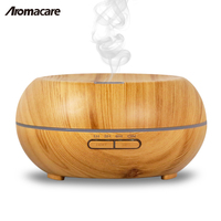 Aromacare Best Wood Grain 200ml Ultrasonic Portable Air Humidifier Atomizer Aroma Essential Oil Diffuser