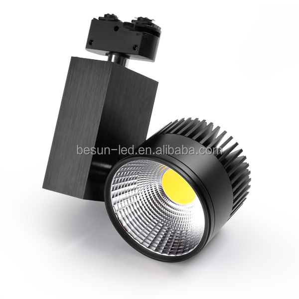 BESUN Cob Led Track Spotlight10w clothing store spotlights Commercial Lighting with rails
