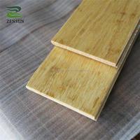 Anti slip natural eco strand woven click dance bamboo flooring