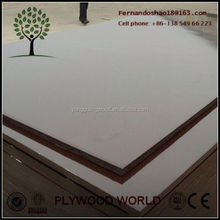 Linyi Feixian Yongguang Brand pink plywood, pink commercial plywood