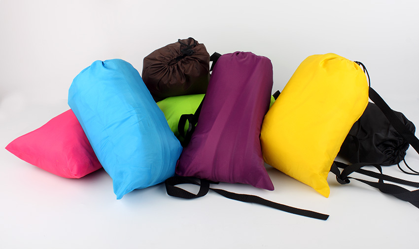 2016 Inflatable lazybag Hangout The NEW EDITION COZE ORIGINAL Air Beach Sofa Holiday Gift travel sleeping bag