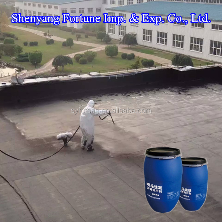 Waterproofing Paint of Spray Liquid Rubber Black Asphalt